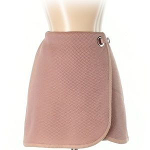 Topshop Blush Mini A-Line Skirt